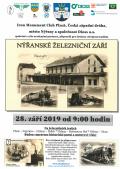Plakát naakci Nýřanské železniční září