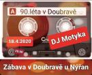 Diskotéka 90. léta v Doubravě 1
