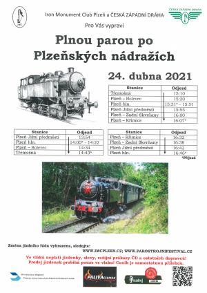 Parnička v Plzni