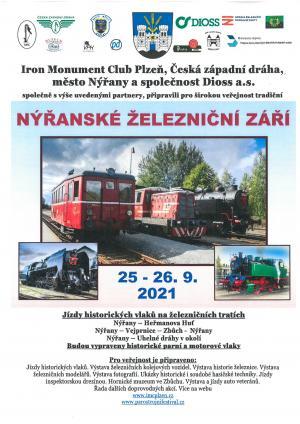 Nýřanské železniční září 2021